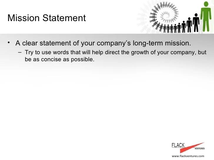 Sample vision statement for business plan  Registered-forward