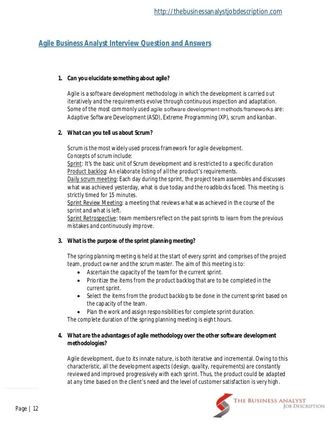 Business Analyst Interview Questions Geekinterview Best 25 Commonly Asked Interview Questions Ideas On
