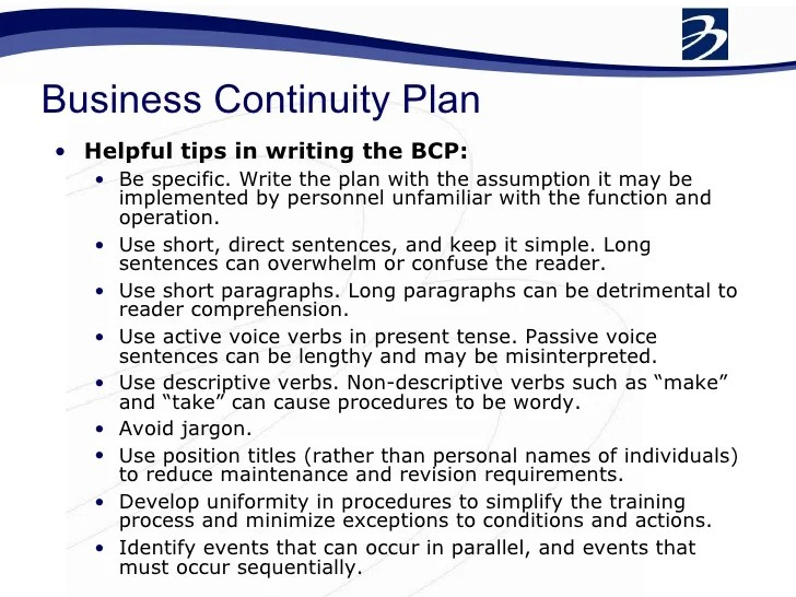 Business Continuity Plan Download 48 Pg Ms Word 12 Business Continuity Workshop Final