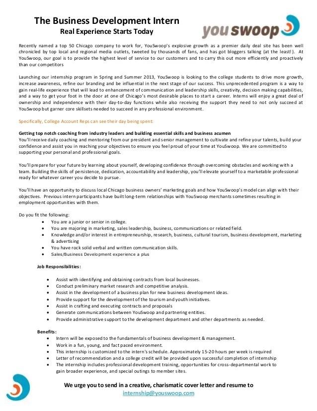 business internship resumes - Goalgoodwinmetals