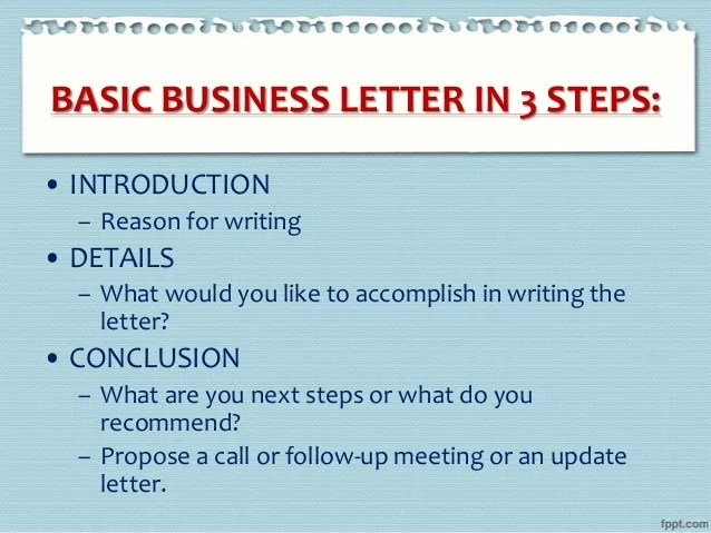 Business Letter Writing E Mail Guidelines Etiquette