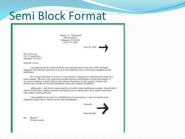 The Best Way To Write And Format A Business Letter Wikihow Business Letter Formats