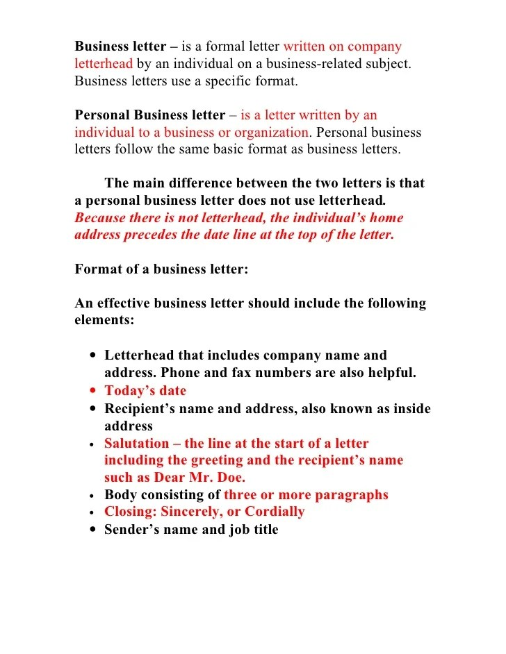 Reference Letter What Is A Reference Letter Business Letter Information Sheet