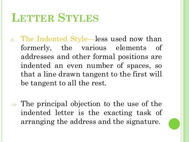 formal letter styles - Apmayssconstruction