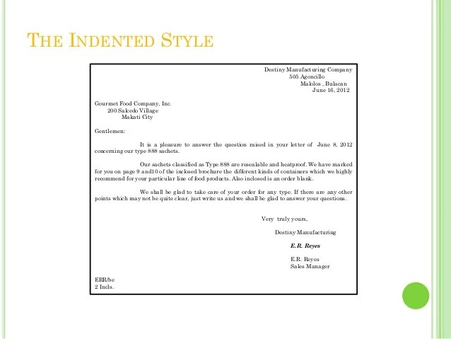 Business Writing To Indent Or Not To Indent Paragraphs Business Letters