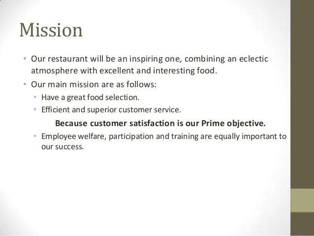 Restaurant And Bar Sample Business Plan Sampleplan Business Planrestaurant