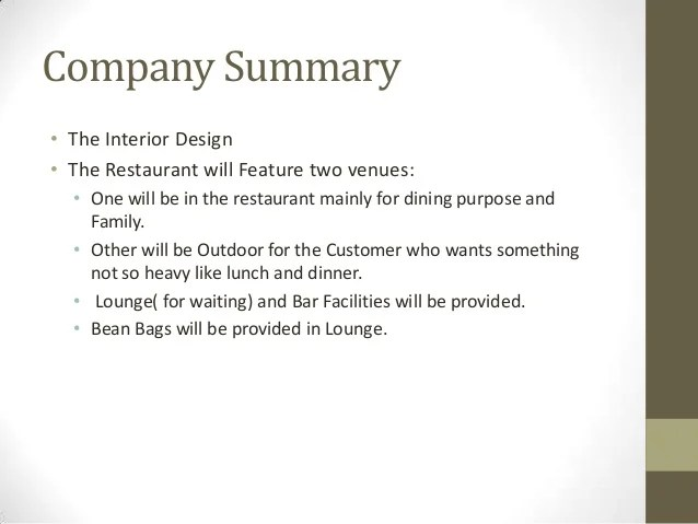 Elements Of A Business Plan Business Strategy Business Planrestaurant