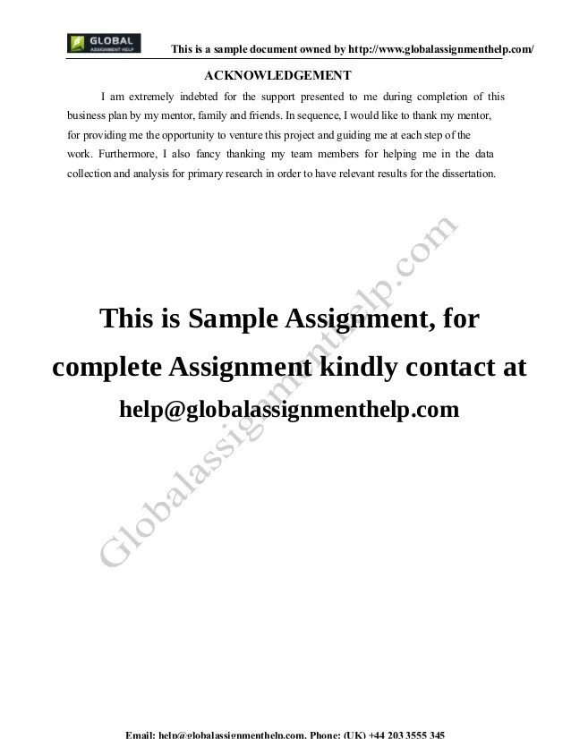 Business Plan Cover Letter Sample  Examples In Word Pdf Sample