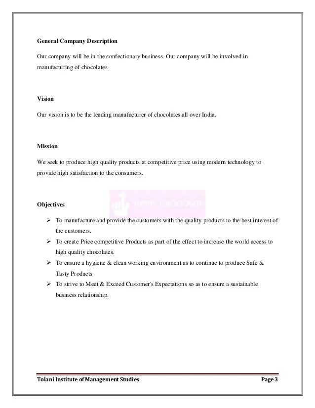 Daycare Business Plan Template 10 Free Sample Example Business Plan For Starting A Chocolate Company