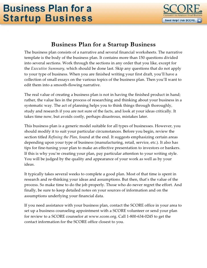 Free Business Proposal Letter Sample Business Plan For Startup Business