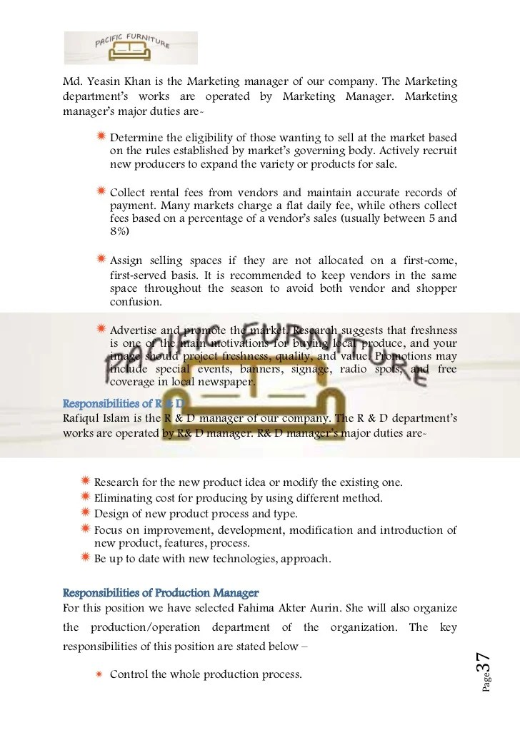 Free Business Proposal Letter Sample Mbahro Business Plan Sample On Furniture