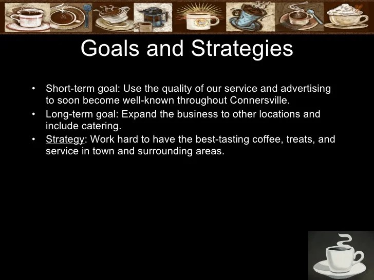 long term goals examples for work