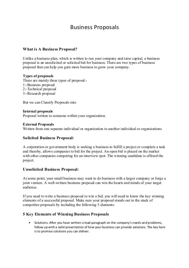 proposal for business - Demireagdiffusion