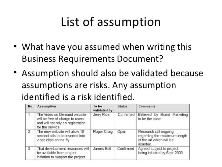 sample business requirements document - Pinarkubkireklamowe