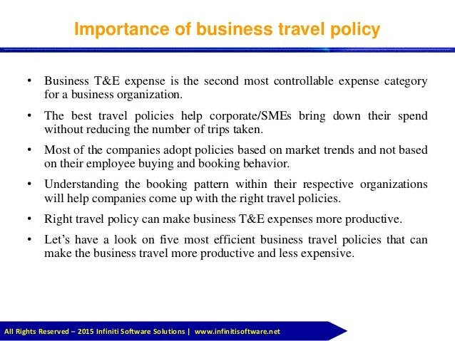 travel Policy Template Welcome To Perkins Travel - mandegarinfo - travel policy template