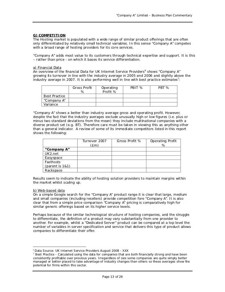 Consultant Business Plan Template - Eliolera - seminar planning template