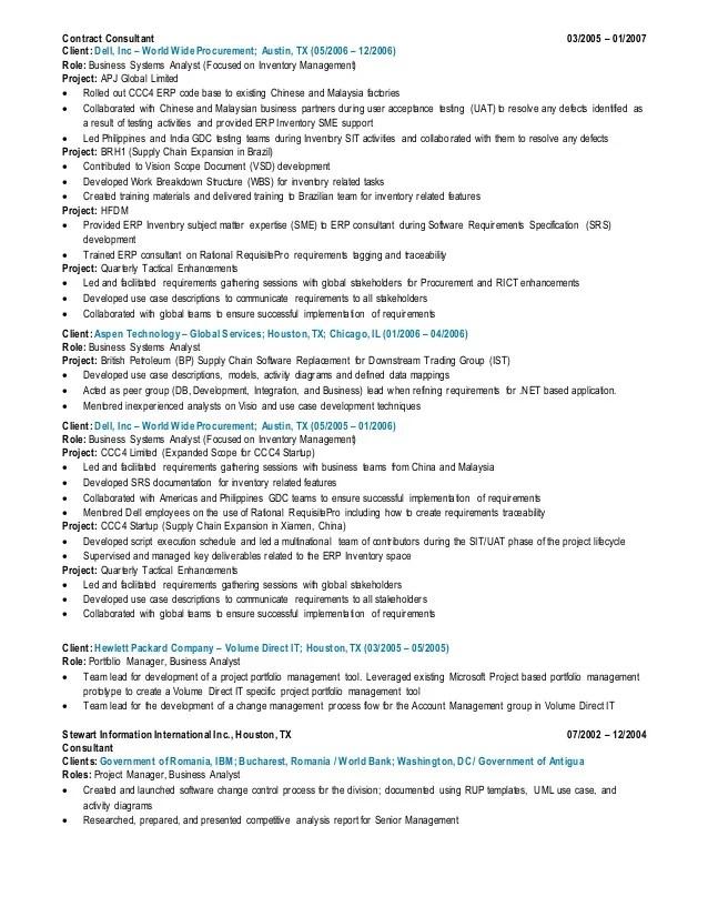 sample resume on soa services