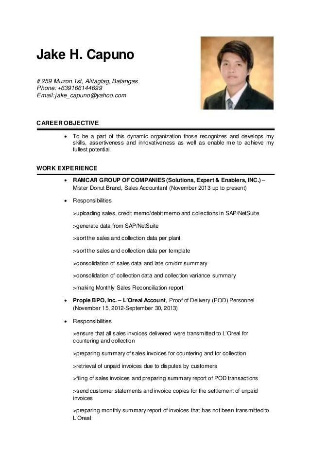 resume updated - Onwebioinnovate - updating resume