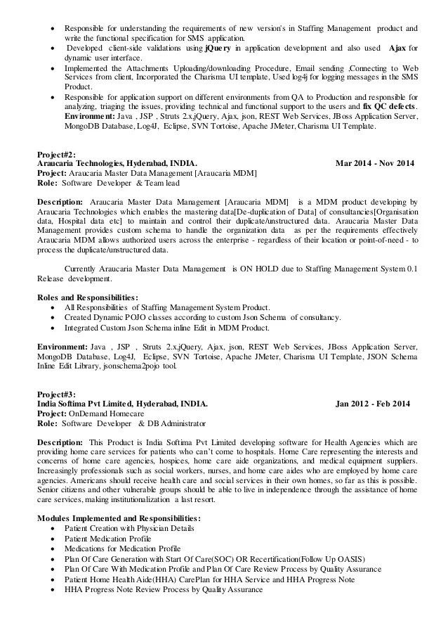 technical lead resume - Ozilalmanoof