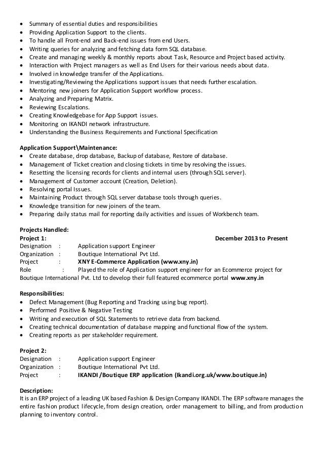 software support engineer job description - Minimfagency - software engineer job description