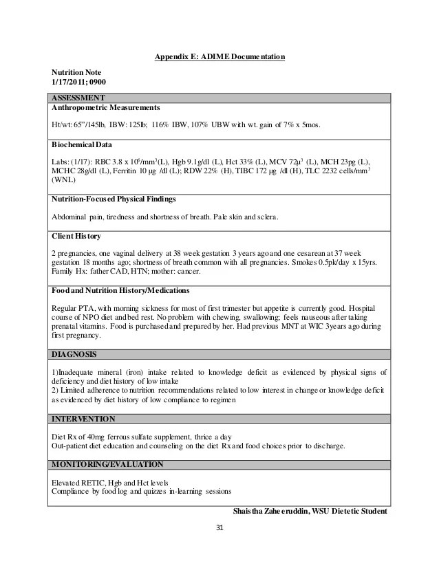 Case Study Archives Nursing Crib Iron Deficiency Anemia In Pregnancy Case Study