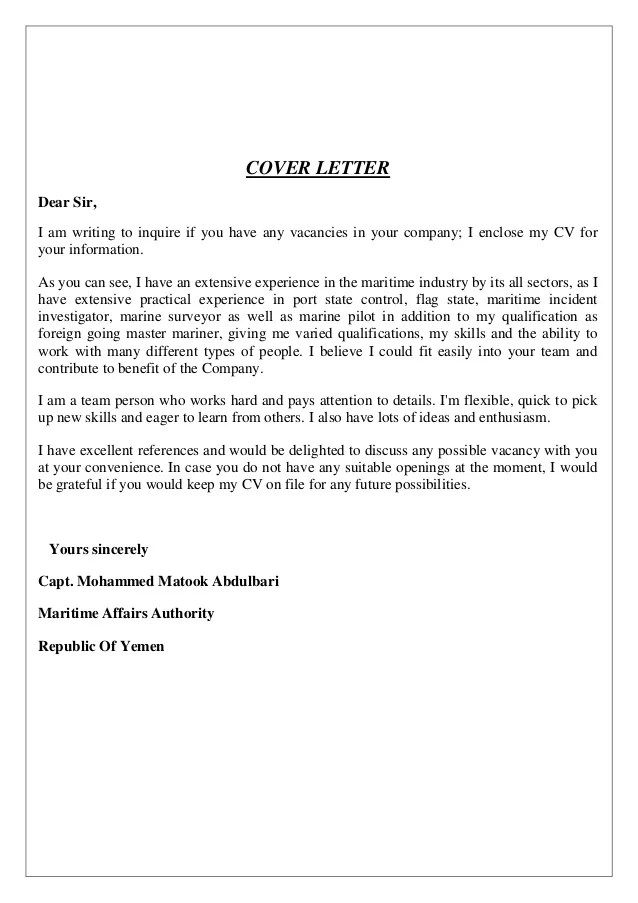 Should I Send A Cover Letter With My Cv Email Etiquette When ...