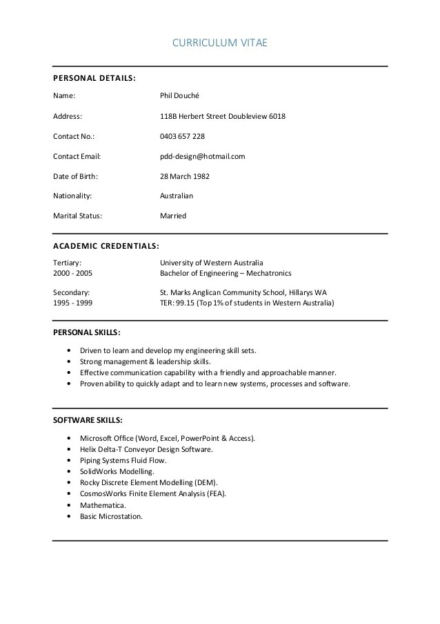 Generate Free Resume Resume World Professional Resume Service 1 Resume Phil Douche Cv