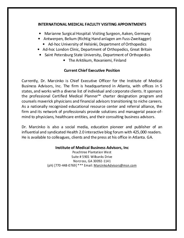 Experience Letter For Visiting Faculty | Company Profile Sample