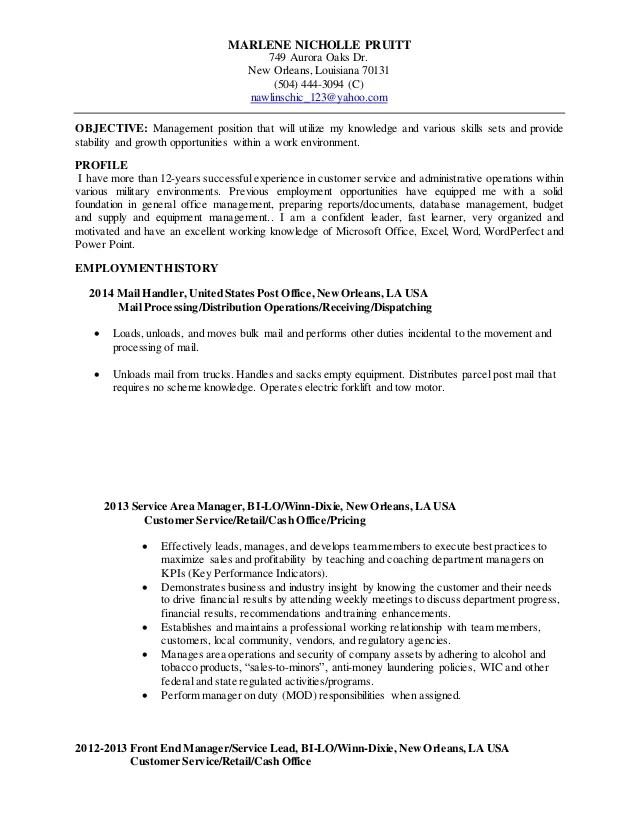 mail handler resume - Onwebioinnovate