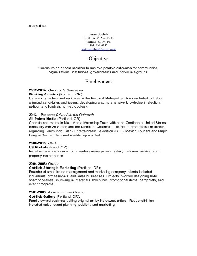 Canvasser Job Description Resume | Sample Customer Service Resume