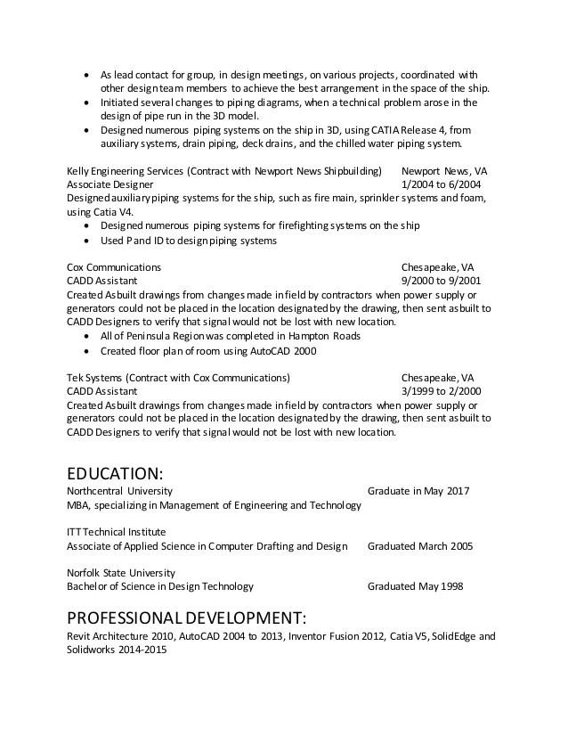 cad designer resume - Goalgoodwinmetals - cad engineer sample resume