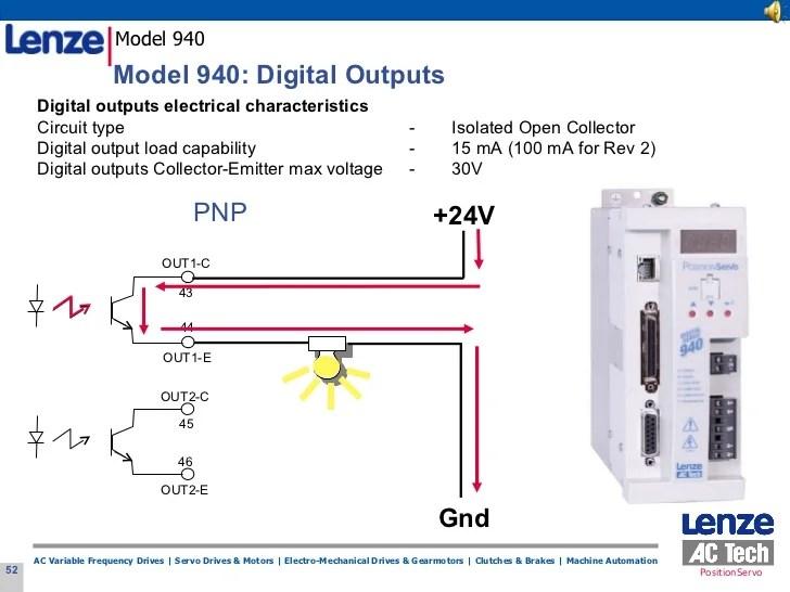 lenze wiring diagrams