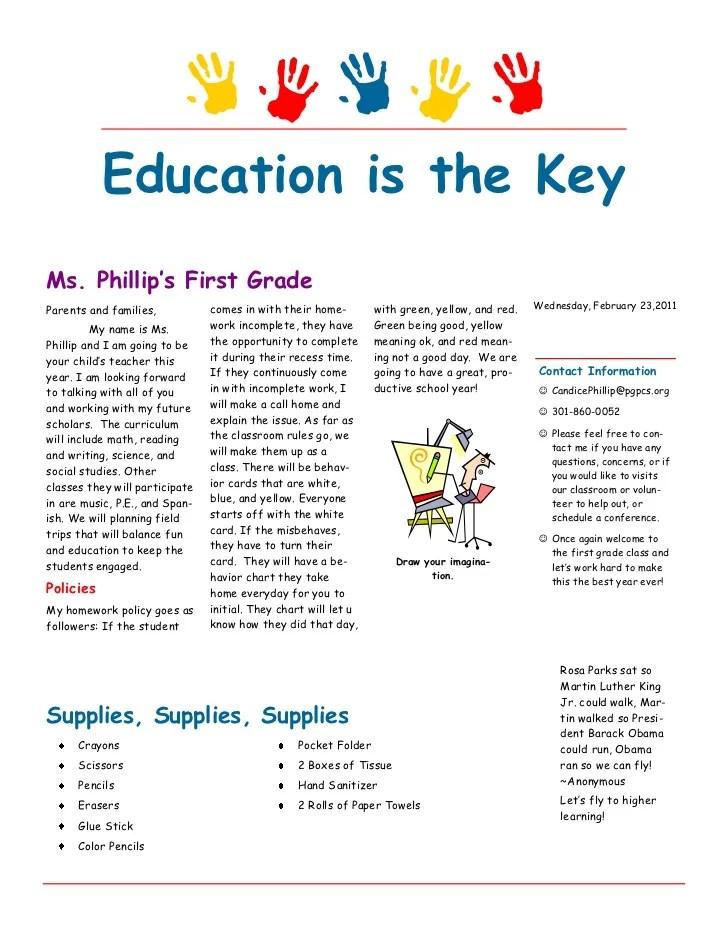 Welcome To Wellingborough School Back To School Newsletter