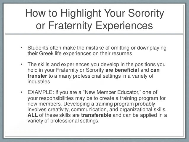 Write A Recommendation Or A Reference Letter Resume And Cover Letter Writing For Greek Life Members