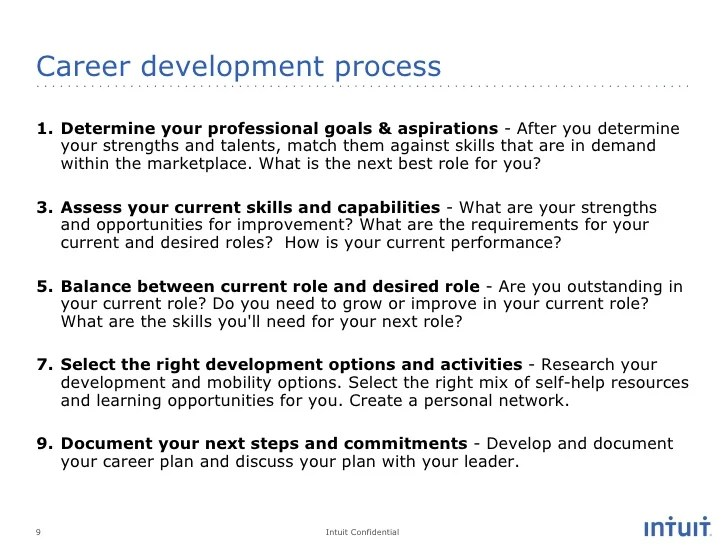 career goals and aspirations