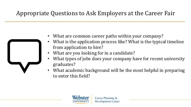 questions to ask at a job fair - Boatjeremyeaton - what to ask at a job fair