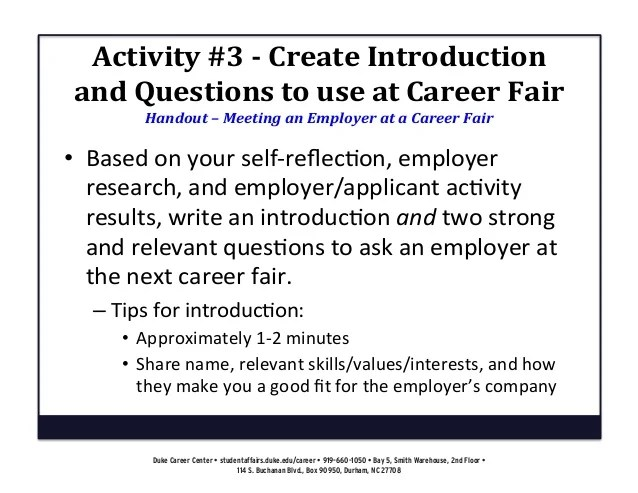 What To Ask At A Job Fair ophion - what to ask at a job fair