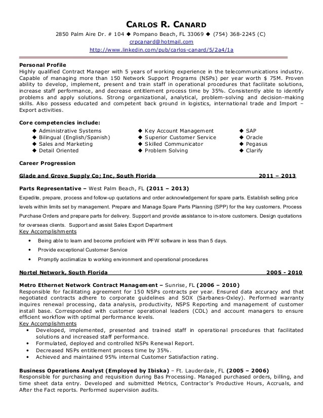 sample resume administrative director - Administrative Director Sample Resume