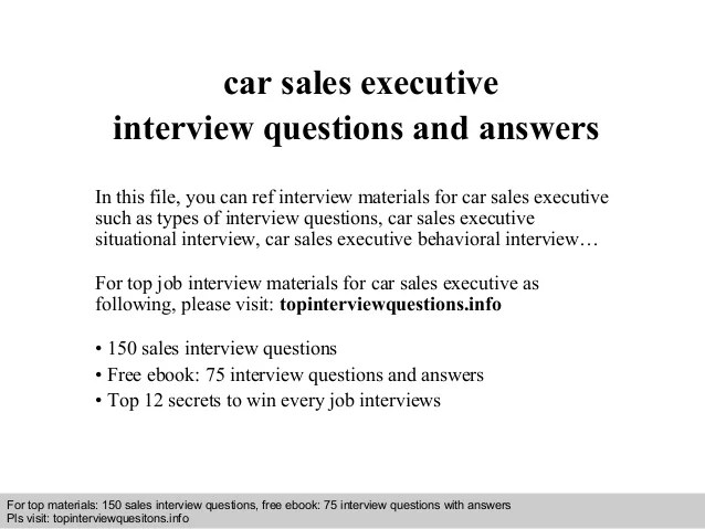 car sales executive job description - Boatjeremyeaton - car salesman job description