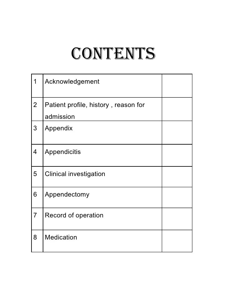 Writing A Case Study Organize Your Papers With Pro Help Nursing Case Study Appendectomy