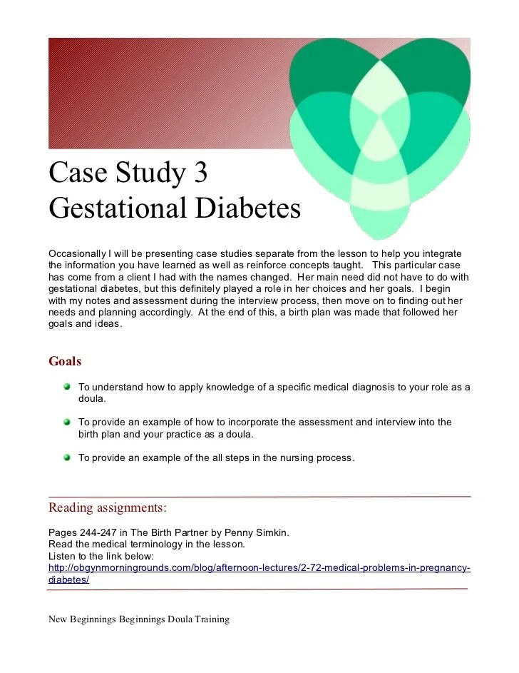 Diabetes Type 1 Hesi Case Study Quizlet Diabetes Free Case Study 3doula Care For C Section And Gestational Diabetes