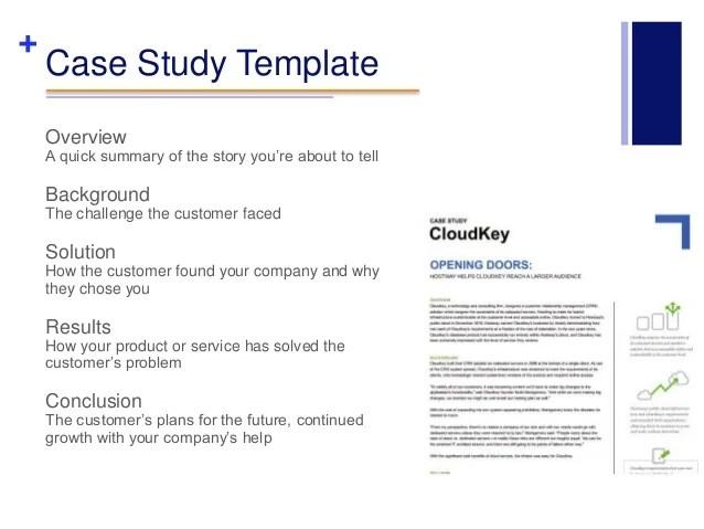Of Case Study Example