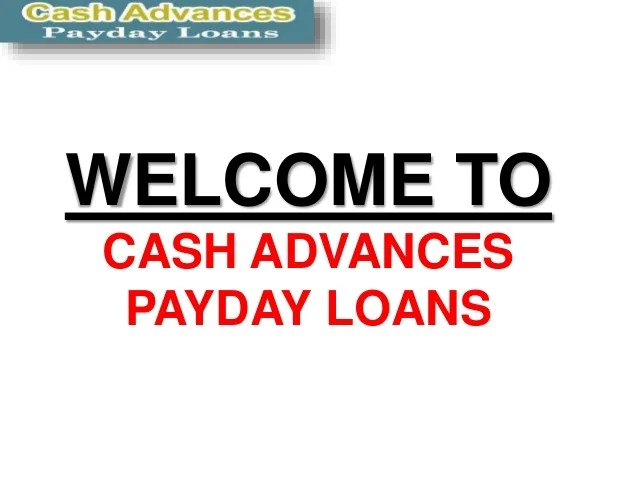 Get a Loan - Payday Loans Online.