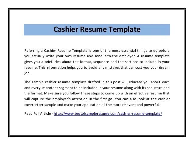 cashier on resume - Goalgoodwinmetals - resume templates for cashier