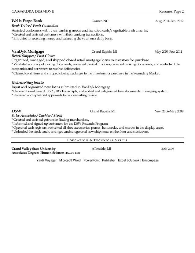 Dsw Resume cvfreepro