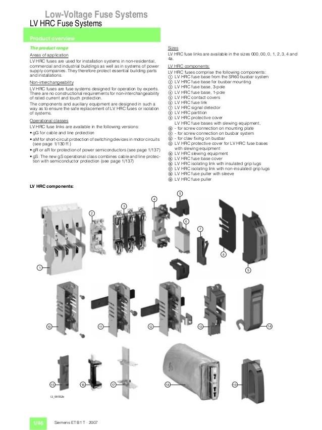 low voltage fuse box