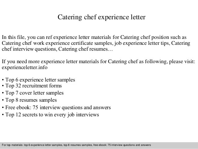 culinary cover letter examples - Josemulinohouse - cover letter for chef