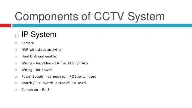 Cat6 Wiring Diagram For Cctv Schematic Diagram Electronic