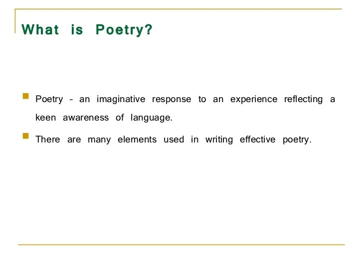 Poetry Powerpoint ppt - writing an acrostic poem powerpoint