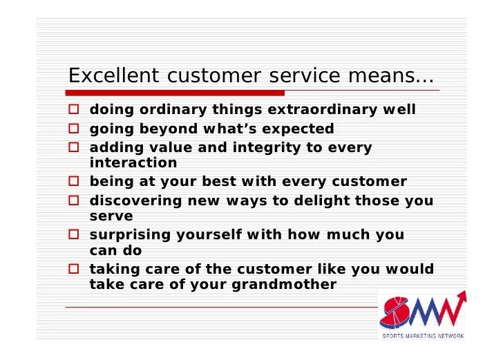 what is your definition of great customer service - Eczasolinf